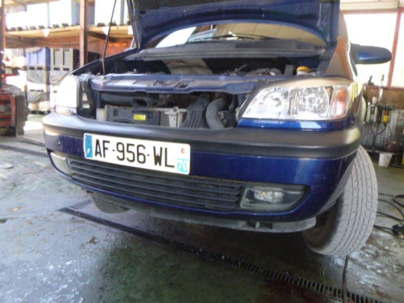 Pare choc avant pour OPEL ZAFIRA (A) PHASE 2